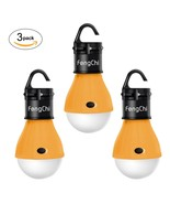 LED Camping Lantern, FengChi[3 PACK] Portable Outdoor Tent Light Emergen... - $11.35