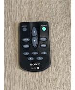 SONY RM-XM1 CAR XM SATELLITE REMOTE CONTROL ORIGINAL DRNXM01MK2, DRNXM01R - $18.00