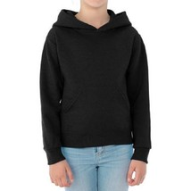 Jerzees Boys' Pill-Resistant Performance Fleece Pullover Hoodie, Black, M - $10.53