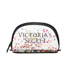 Victoria's Secret Sparkle Zip Top Beauty Bag - $22.78