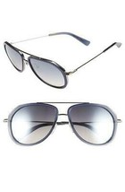 NEW MCM 613S 424 Blue Aviator Sunglasses 58mm with MCM Case - $89.09
