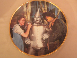 THE TIN MAN SPEAKS collector plate WIZARD OF OZ 50th Anniversary BLACKSHEAR - $39.99
