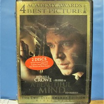 DVD A Beautiful Mind Russell 2 Discs Awards Edition Widescreen Crowe Ed ... - $2.49