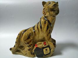 SUNTORY OLD WHISKY Bottle Tiger Retro Old Empty Bottle - $231.88