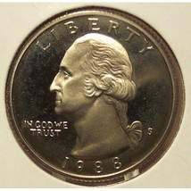 1988-S Proof DCAM Washington Quarter PF65 #469 - $3.19