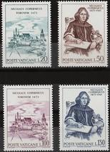 1973 Copernicus Set of 4 Vatican Postage Stamps Catalog Number 537-40 MNH