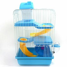 Hamster Cage High Quality Durable Pets Three Storey Plastic Small Buildi... - $55.99