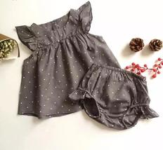Summer style dot baby girl sleeveless clothes - $9.99+