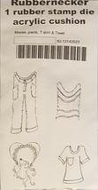 Rubbernecker Stamps Mouse, Pants, T-Shirt & Towel Rubber Stamp Set
