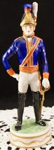 Irish Dresden Soldier Figurine The Royal Horse Guards (Blues) Officer 18... - $449.99
