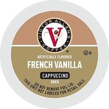 Victor Allen's Coffee French Vanilla Flavored Cappuccino 42 Count Single Serv... - $18.93