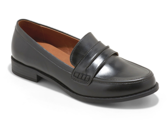 Universal Thread Women's Quinn Closed Back Faux Leather Loafers size US 12 NEW