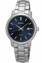 NEW* Seiko SUR749 Ladies Quartz Stainless Steel Wristwatch MSRP $210 - $210.00