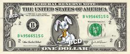 EASTER BUNNY on a REAL Dollar Bill Cute Egg Stuffer & Basket Treat Cash ... - $4.99