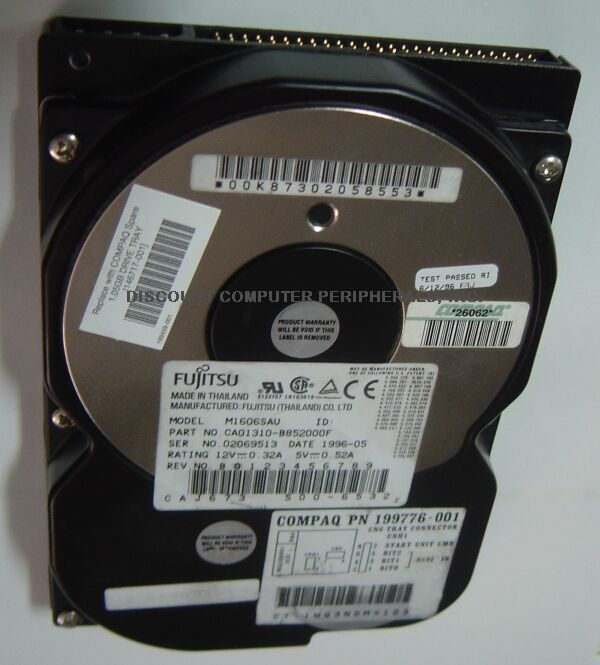 Fujitsu COMPAQ M1606SAU 1GB 3.5IN 50PIN SCSI Drive 3 In stock Free USA Ship