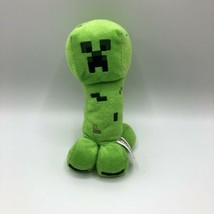 "Mojang Minecraft Green Creeper 7"" Plush Stuffed Animal Toy 2014 - $12.86"
