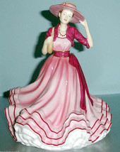 Royal Doulton KATE Pretty Ladies Figurine in Pink Hat HN 5527 New In Box - $174.90