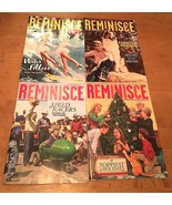 Lot Of 4 Reminisce Magazines  Issues-April/May,July, Aug/Sept/Dec/Jan 2018 - $9.80