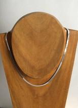 Vintage Italian Sterling Silver 925 Herringbone 4 mm Wide Chain Necklace... - €27,52 EUR