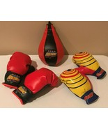 Kids Pretend Play Boxing Set Boxing Gloves and Punching Bag Youth Sports... - $19.99