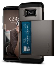 Galaxy S8 Plus Case With Slim Dual Layer Wallet Design And Card Slot Hol... - $25.26