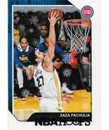 Zaza Pachulia NBA Hoops Winter 18-19 #75 Purple Parellel Detroit Pistons - $0.50