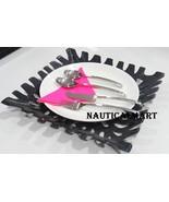 Al-Nurayn Vintage Stainless Steel Silverware Cutlery Set Of 4 By Nautica... - $99.00