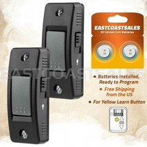 2 For LiftMaster 883LM Push Button Garage Door Opener Control Security+ 2.0 - $17.59