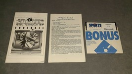 Commodore 64/128: TV Sports Football [w/ Manuals] - $11.00