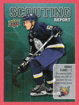 2019-20 Brandt Clarke Upper Deck CHL Rookie Scouting Report - Barrie Colts - $2.38