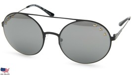 New Michael Kors MK1027 Cabo 12029G Shiny Black /GUNMETAL Lens Sunglasses 55mm - $54.43