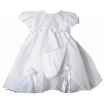 Stunning Baby Girl Heirloom Boutique Christening Gown & Hat Set, Unique ... - $49.72