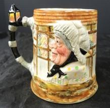 Vintage Lancaster Sandland Mrs Gamp & Sam Weller Double Character Mug - $2.28