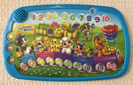 LeapFrog TOUCH MAGIC COUNTING TRAIN - Learning Numbers, Animals, Songs, ... - $14.85