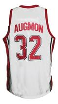 Stacey Augmon #32 College Basketball Jersey Sewn White Any Size image 2