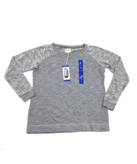 NEW CHAMPION Womens Size Large Long Sleeve Sweater Loose Fit Dove Grey H... - $17.83