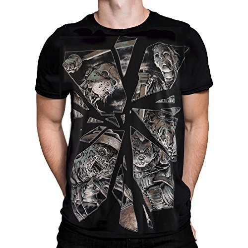 Primary image for Darkside - Horror Mirror - Men's T-Shirt - Black (Large)