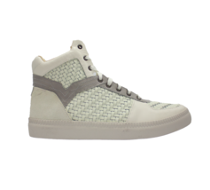 DIESEL Spaark Mid Ice Paloma Mens Leather Fashion Sneaker Size 12 - $71.27