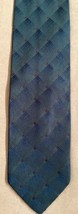 GIORGIO ARMANI Cravette All Woven Plaid Geometric Design Silk Tie Italy ... - $5.20