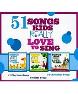 51 Songs Kids Really Love to Sing (CD, Oct 2011, 3 Discs, EMI Christian ... - $8.95