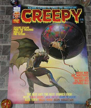 Creepy #75 Monster Magazine Poster 1976 - $28.99