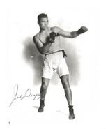 JACK DEMPSEY 8X10 PHOTO BOXING PICTURE PRE-PRINTED SIGNATURE - $3.95
