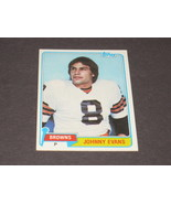1981 TOPPS CLEVELAND BROWNS TRADING CARD...#129 JOHNNY EVANS - $2.00