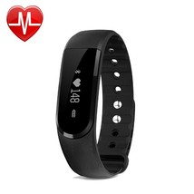 Heart Rate Monitor Fitness ActivityTracker Smart Wristband Bluetooth Ped... - $21.01
