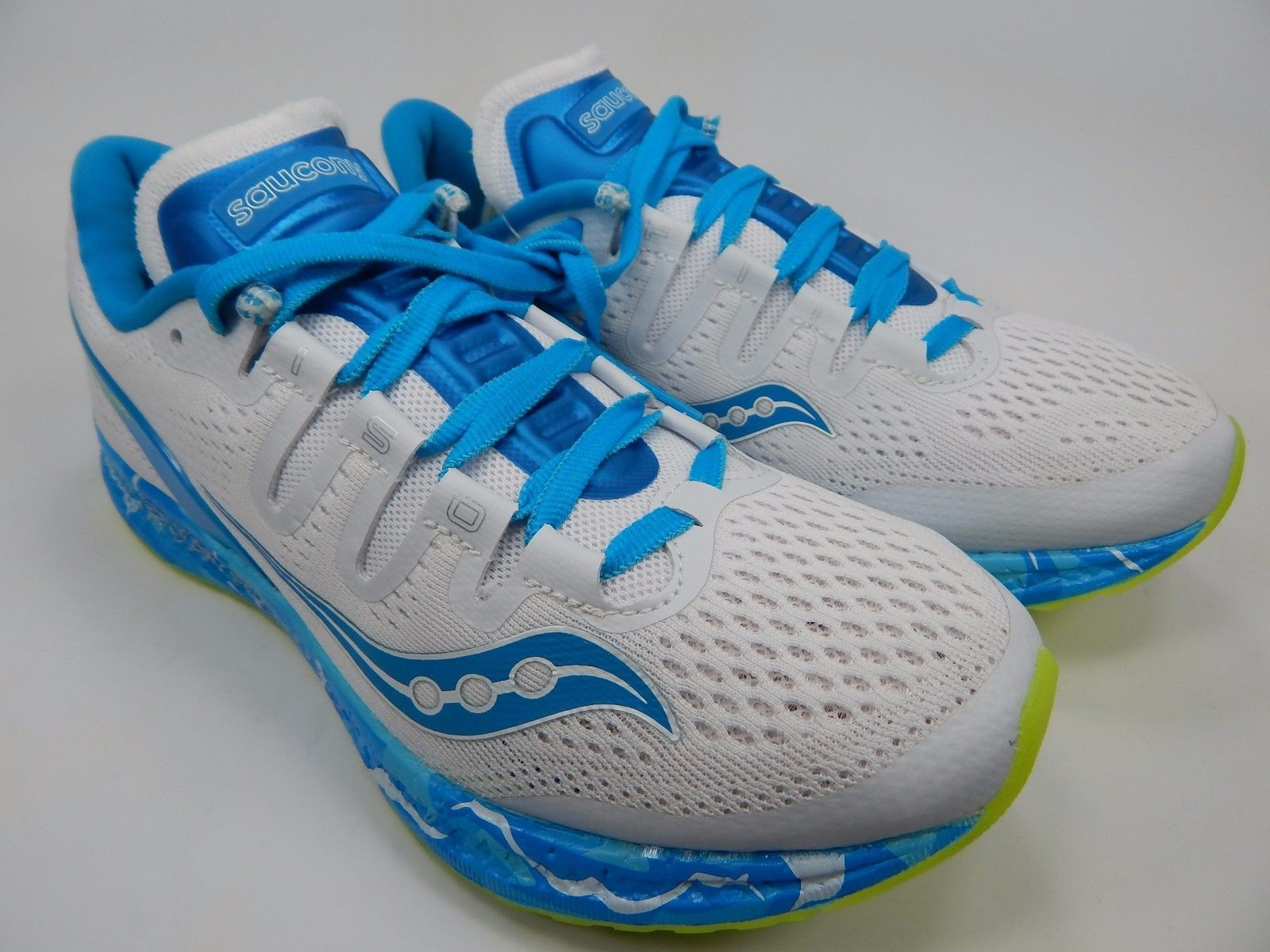 Saucony Freedom ISO Women's Running Shoes Size US 8 M (B) EU 39 White S10355-12