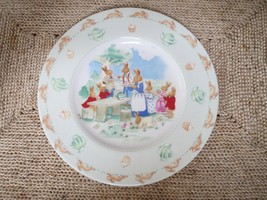 Royal Doulton Bunnykins Tea Party Plate - $20.00