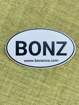 "Bonanza ""BONZ"" Car Magnet, 5"" x 3"" - $5.00"