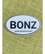 "Bonanza ""BONZ"" Car Magnet, 5"" x 3"" - £3.66 GBP"