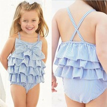 Pudcoco Cute One Pieces Clothes Summer Bodysuits For Newbron Baby Girls Ruffle S - $9.69