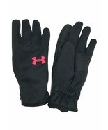 Under Armour Youth ColdGear Reactor Elements Gloves Black/Red, M 1298963... - $29.99